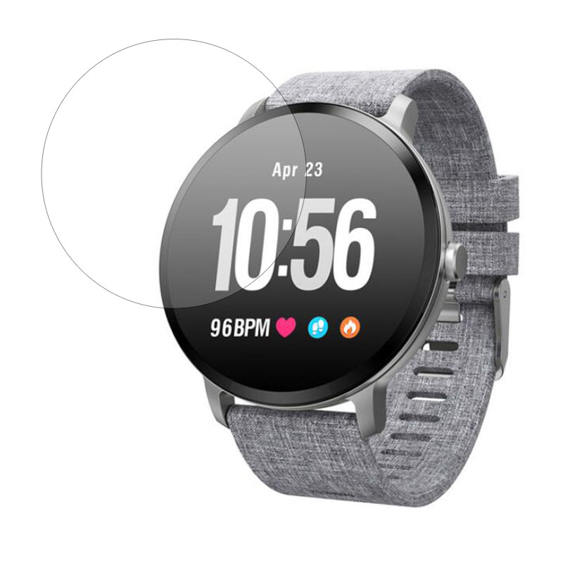 Smartwatch Tempered Glass Protective Film Ultra Clear Guard For V11 Smart Watch Toughened LCD Display Screen Protector Cover