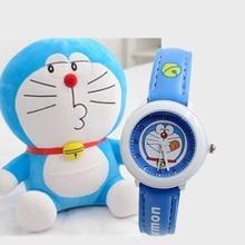 Children's watch boys and girls cartoon Doraemon tinkling cat primary and middle school students waterproof quartz  watch