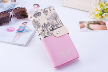 Wallet ladies landscape pattern pu leather wallet short section long section large capacity ladies mobile wallet women dudini fashion casual style ladies wallet solid color lichee pattern women wallets 3 fold pu leather short section small wallet