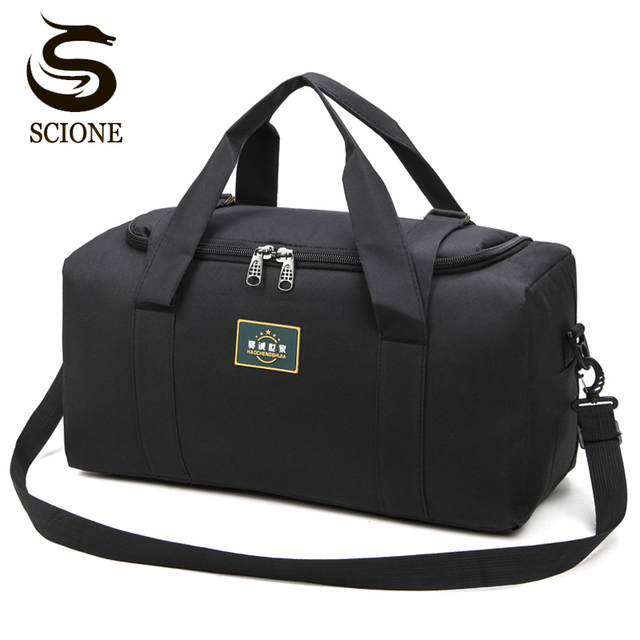 Fashion Men Travel Bags Male Luggage Bag Nylon Large Big Capacity 2 Sizes Duffel Bags Multifunction Shoulder Handbags for Women