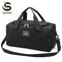Modne męskie torby podróżne męskie torba na bagaż Nylon duża duża pojemność 2 rozmiary torby płócienne wielofunkcyjne torebki na ramię dla kobiet