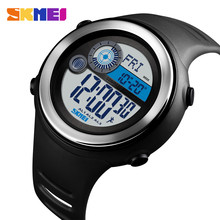 лучшая цена SKMEI 1395 Sport Watches Digital Wristwatches World Time Pedometer Compass Distance Calorie Waterproof Watches Relogio Masculino