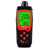 TA8404 0~25% Portable Oxygen Analyzer with LCD Display Oxygen Gauge Digital O2 Meter Detector Sound Light Alarm Function