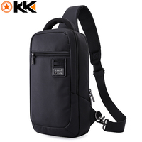 KAKA Chest Bag Pack For Men Waterproof Oxford Anti Theft Crossbody Bags Male Fashion Short Travel