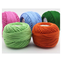 Hilos 100% Cotton Crochet Thread Skeins Summer Dresses Lace Threads For Knitting New Lurex Luxruy Women Clothes Hand Knit Yarn