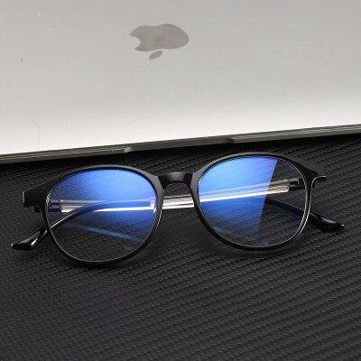Computer Anti Blue Light Glasses Frame Women Eye Protection Anti Radiation Eyeglasses Men Anti Blue Rays No Degree Flat Glasses