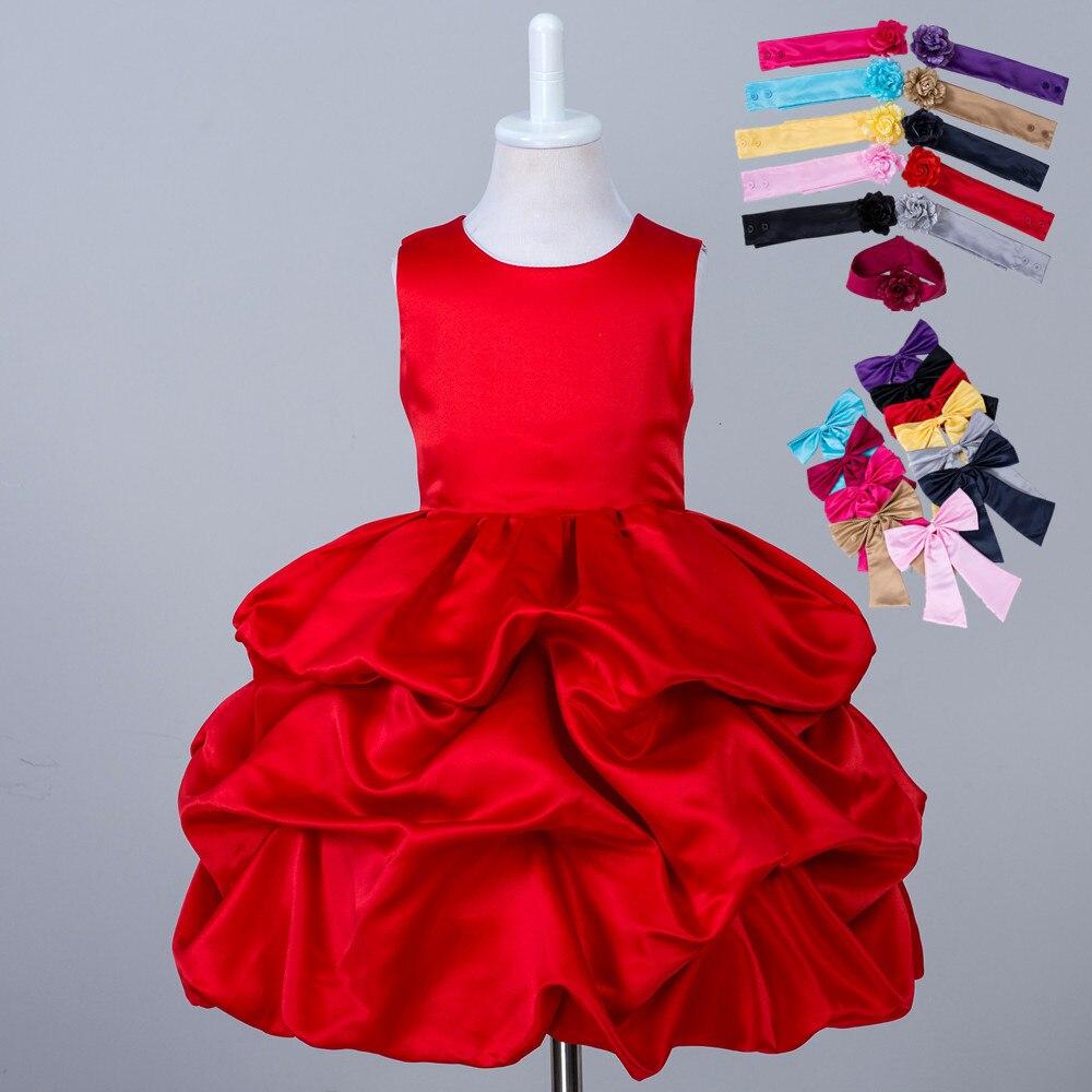 Neueste Kinder Phantasie Kurz Puffy Kinder Hochzeitskleid Designer ...