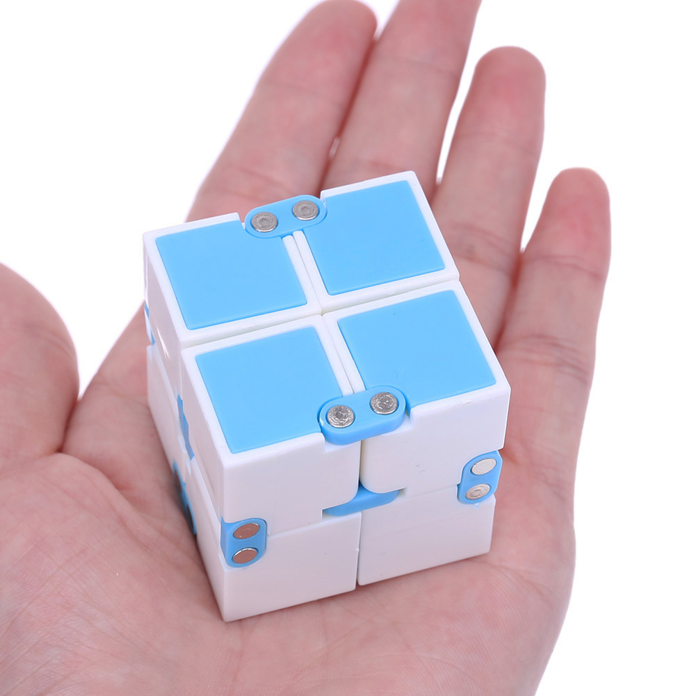 NEW Infinity Cube Mini Fidget Cube Anti Stress Finger Hand Magic Cube Blocks Adult Kids Funny