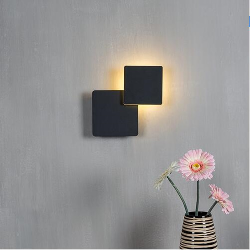 5W Modern LED Wall Light 360 Degree Rotating Indoor ... on Wall Mounted Decorative Lights id=72582