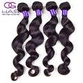 8A Brazilian Loose Wave Remy Human Hair 4Pcs Brazilian Hair Bundles 100% Human Hair Weaving Loose Wave Brazilian Hair Extensions