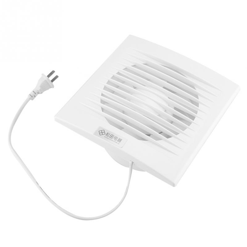 15W 220V Wall Mounted Exhaust Fan Low Noise Home Bathroom ...