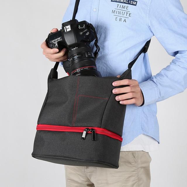Photo Camera SLR Camera Waterproof Bag Travel Bag Shoulder Camera Bag Camera portable Case DSLR Photo Backpack Photographic