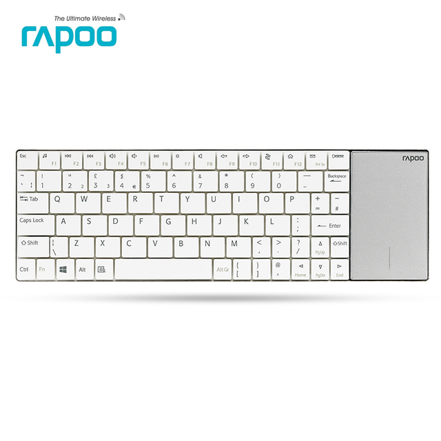6152810e748 Original Rapoo E2710 2.4G Wireless Keyboard, 5.6mm ultra-slim DesignTouch  Keyboard For W8/RT computer Laptop PC,Free shipping