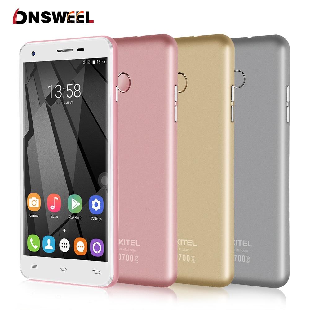 Original Oukitel U7 Plus Cell Phone MT6737 Quad Core 2G 16G 2500mAh 1280 720 HD Screen