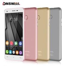 Original Oukitel MT6737 U7 Plus Teléfono Celular Quad Core 2G + 16G 2500 mAh 1280*720 HD de Pantalla 4G LTE Smartphone GPS 13MP móvil teléfono