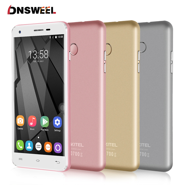 Original Oukitel U7 Plus Cell Phone MT6737 Quad Core 2G+16G 2500mAh 1280*720 HD Screen 4G LTE Smartphone GPS 13MP mobile phone