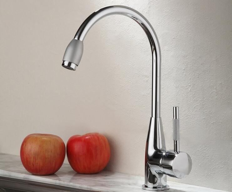 Brass Copper Pull out Spray Kitchen Faucet Mixer Tap Pullout Sprayer Kitchen Faucet SATIN NICKEL BRUSHED