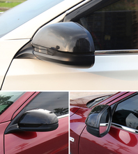Car-styling  For Honda HRV HR-V 2014-2017 VEZEL ABS Chrome ABS Carbon Paint Exterior Side Door Rearview mirror Cover Trim
