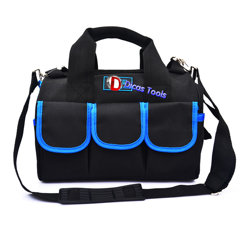 14 inch oxford cloth canvas multifunction hand shoulder tool bag hardware repair kit  цены