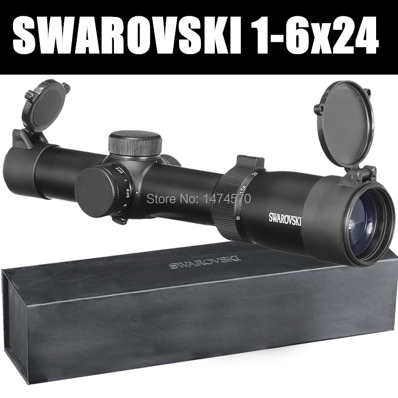 SWAROVSKl 1-6x24IRZ3 F101 circle dot Punctuate Differentiation Sight Glass Hunting Rifle Scope Made In China tactical optical sights 1 6x24irz3 f101 circle dot punctuate differentiation sight glass reticle rifle scope hunting riflescope