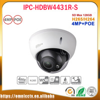 Original Dahua 4MP IPC HDBW4431R S Replace IPC HDBW4421R IP Camera HD Network IR Cctv Dome