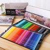 DeLi 24 36 48 72 Colors Oily Color Pencil Iron Box Pastel Coloring Pen Advanced Drawing