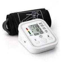 Точный автоматический электронный монитор артериального давления интеллектуальный цифровой ЖК-дисплей Arm style Health Care с голосовой функцией