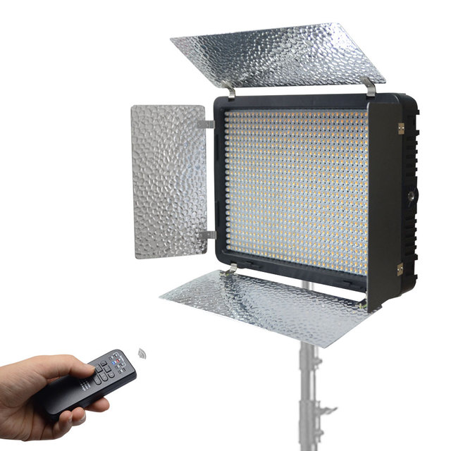 Mcoplus LED-520A LED Light 528PCS LED Lamp 3200K/5500 Color Temperature 3500LM Video Light for Canon Nikon Sony DSLR Camera