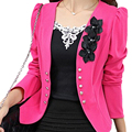 SAF-New blazer female slim outerwear blazer elegant spring autumn outerwear coat women ladies jacket clothes