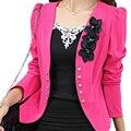 SAF-Nova blazer primavera casaco outerwear outono fêmea magro outerwear blazer elegante das senhoras das mulheres jaqueta de roupas