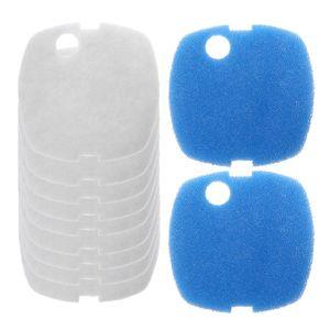10 шт. аквариумные фильтрующие колодки для SUNSUN HW-302/505A канистра фильтр корпус белый + синий Губка фильтр колодки