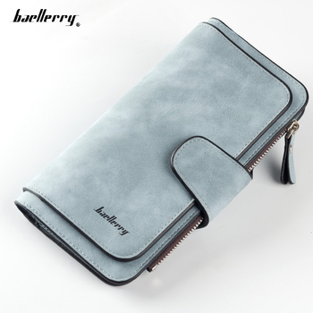 Baellerry Brand Wallet Women Ladies Clutch Wallet High Quality Scrub Leather Lady Purses Long Female Wallet Carteira Feminina