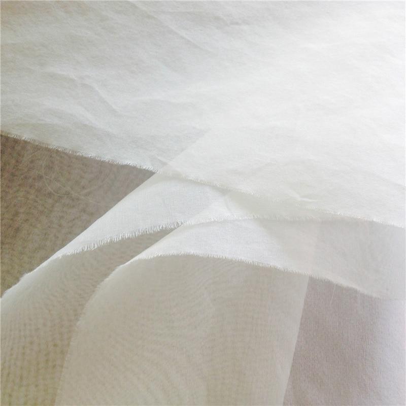 15 м 5, 5 момме 140 см шелковой ткани из шелковой ткани тюль шелк натуральный органза ткани Tecido Telas де Седа tissu Tissus Soie AF0005