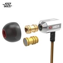 KZ ED9 3,5 мм вкладыши Наушники 1DD Super Bowl настройки наушники с насадками вкладыши мониторы hi fi наушники с микрофоном прозрачный