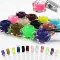 UV Gel Bling Color Powder Set 12 Pot Art Nails Lac Unhas Ongle Glitter Builder Farbgel Professional Unha Extension Tools 194