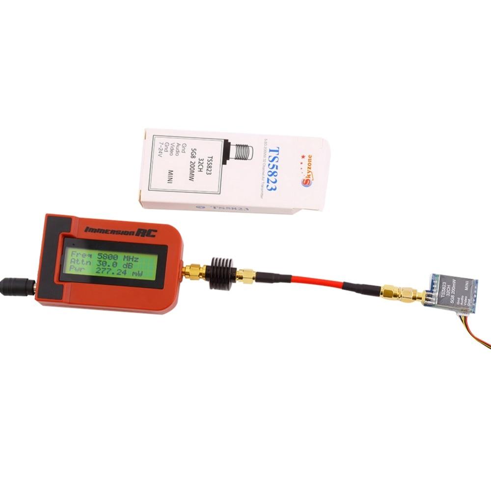 TS5823 5.8G 200mW 32CH FPV Mini Wireless AV Transmitter Module for FPV skyzone fpv ts5813s 5 8g 25mw 40ch mini av wireless transmitter for mini multicopter qav250