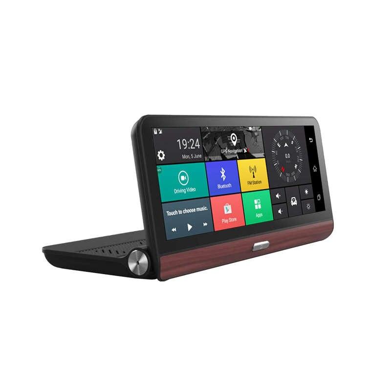 Складной автомобильный видеорегистратор, 7 дюймов, видеорегистратор, Android 5,0, Gps навигация, двойная линза, камеры, авто рекордер, Full Hd 1080 P, авто...