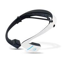 LF 18 Wireless Bluetooth Headset Stereo Earphone Neck Strap Sport Headphone Bone Conduction NFC Hands Free