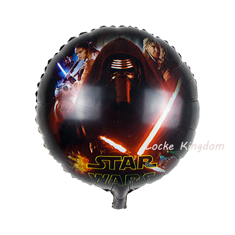 Lucky 18 Inch Cartoon Star WarsCaptain AmericaZootopia Balloon Foil Helium Balloons Birthday Party Decorations Globos Toys In Ballons Accessories From