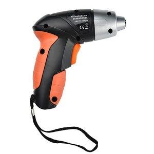 Image 4 - 24 Uds 4,8 V eléctrico recargable ligero destornillador inalámbrico juego de brocas cargador EU destornillador eléctrico