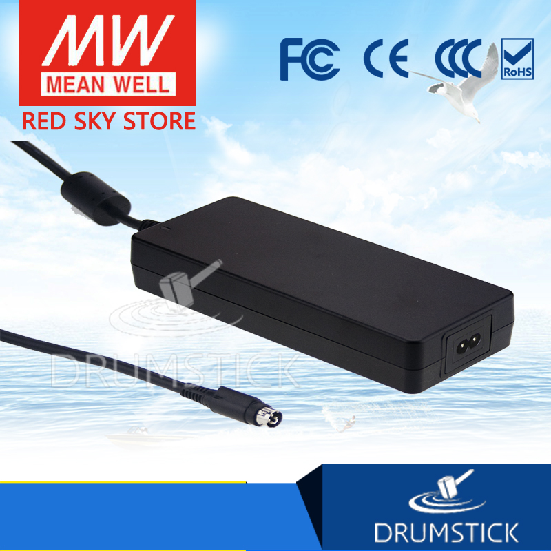 Genuine MEAN WELL GSM160A48-R7B 48V 3.34A meanwell GSM160A 48V 160W AC-DC High Reliability Medical Adaptor 1mean well original gsm160a24 r7b 24v 6 67a meanwell gsm160a 24v 160w ac dc high reliability medical adaptor