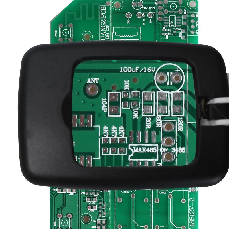 Sulankstomas 3X didinamasis lęšis 9LED kompaktiškas darbalaukio - Matavimo prietaisai - Nuotrauka 5
