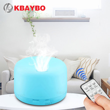 KBAYBO Remote Control Ultrasonic Air Aroma Humidifier 7 Color LED Lights Electric Aromatherapy Essential Oil Aroma Diffuser цена и фото