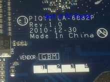 NEW + WORKING Free Shipping Laptop Motherboard PIQY1 LA-6882P REV : 1.0 for Lenovo Ideapad Y570 Notebook PC