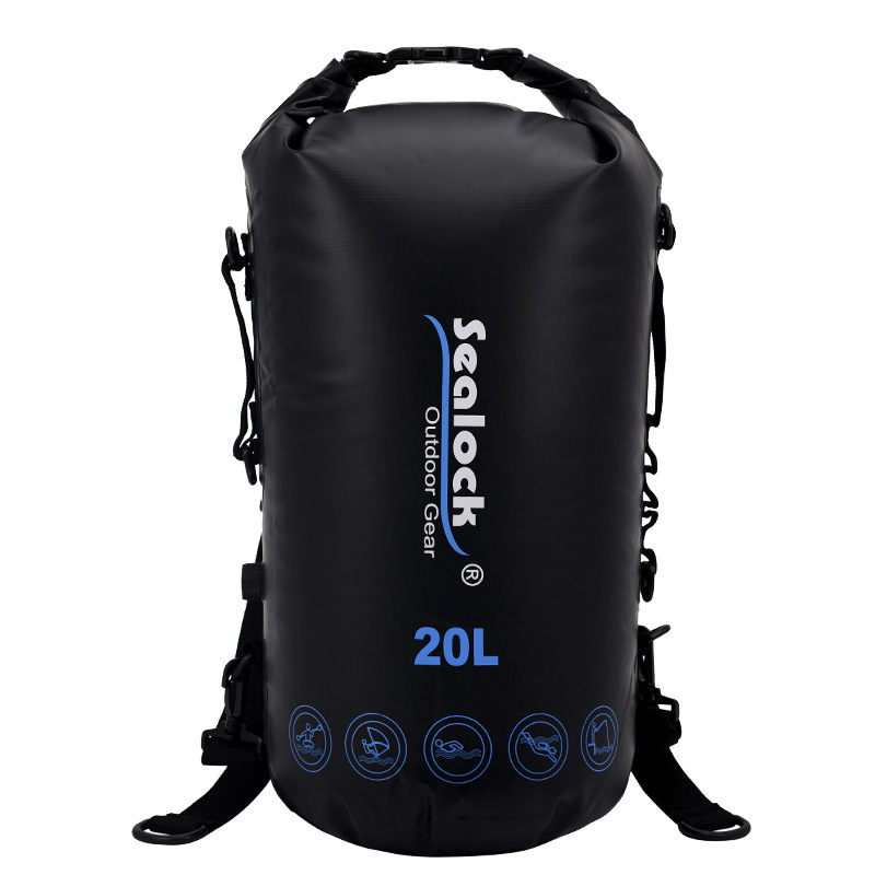 Rafting Sports  Waterproof Bag Swimming  Floating bag    Waterproof Bag A5223 environmentally friendly pvc inflatable shell water floating row of a variety of swimming pearl shell swimming ring