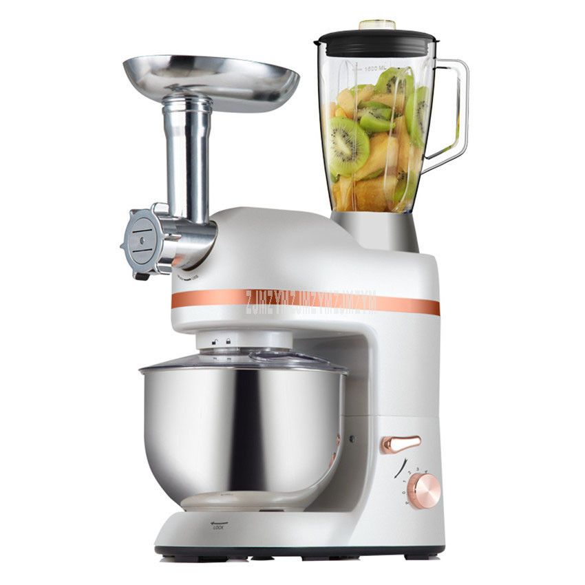 Multifunction Electric Dough Mixer Eggs Beater 5L Electric Blender Juicer Grinder For Sausage Maker Kitchen Stand Mixer SM 1066
