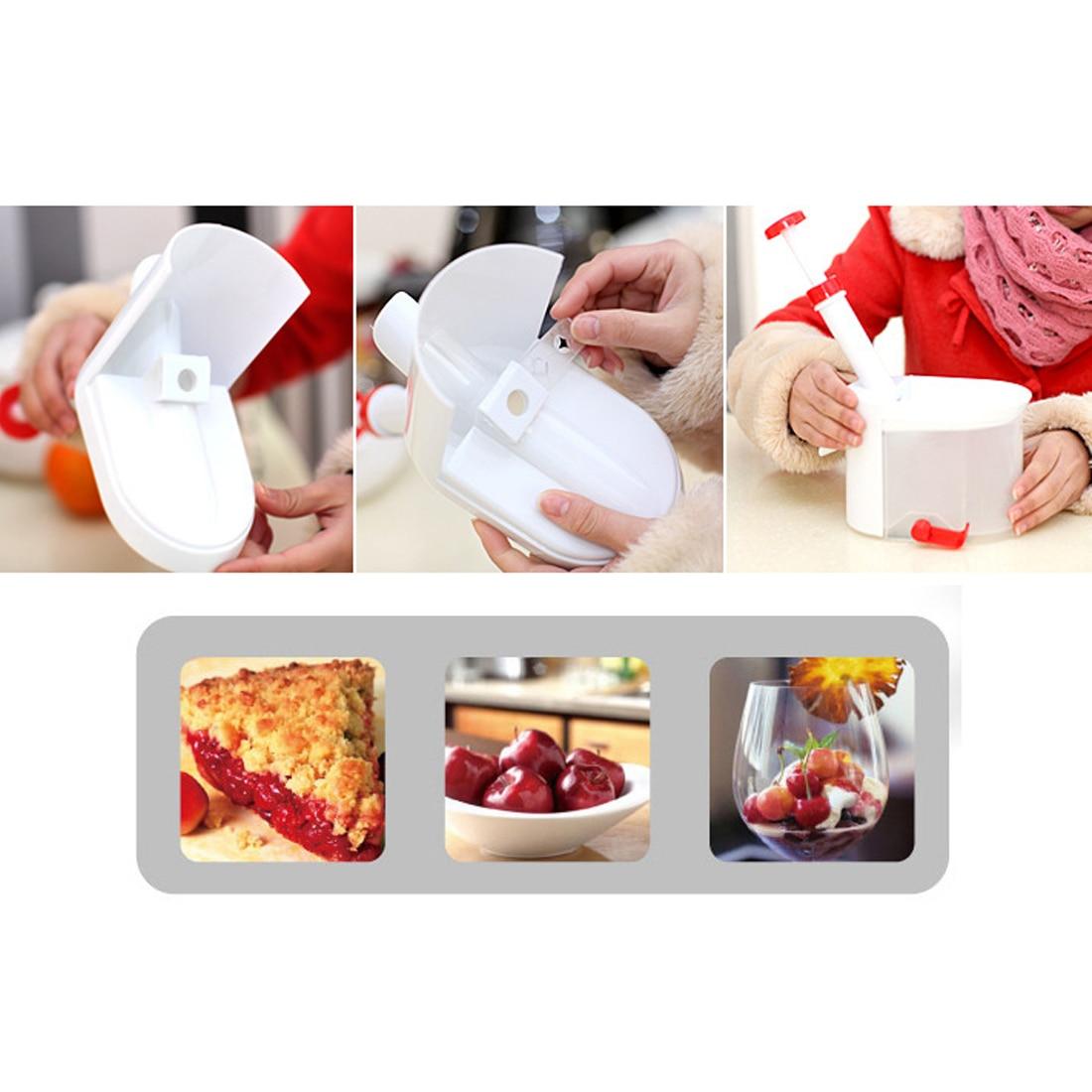 Bester Verkauf Cherry Pitter Seed Remover Maschine Kirschen Corer mit - Küche, Essen und Bar - Foto 2