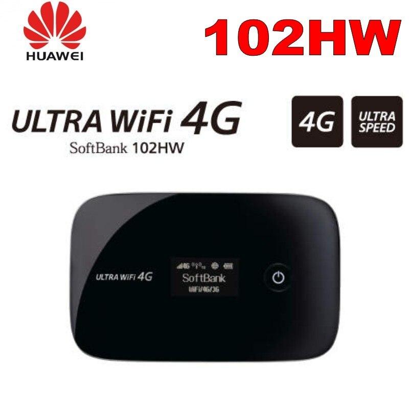 Softbank débloqué 102HW laissez 4G Mobile haut débit Devic HUAWEI E5776 WiFi routeur