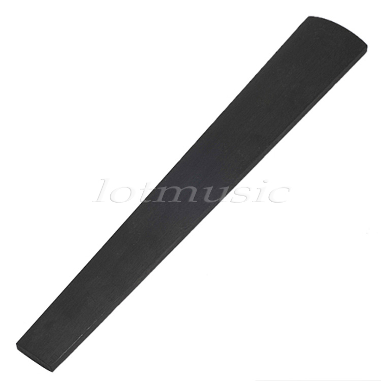 Sports & Entertainment Ebony Wood Violin Neck And Fingerboard Unfinished 4 String 1/2 3/4 4/4 Violin Fretboard Parts Accessories