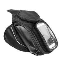 Новая водонепроницаемая сумка для моторного бака, черная сумка для топливного бака, магнитная велосипедная седельная сумка, сумка на одно плечо, мотоциклетный рюкзак
